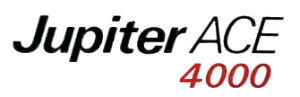 Jupiter Ace4000 Logo
