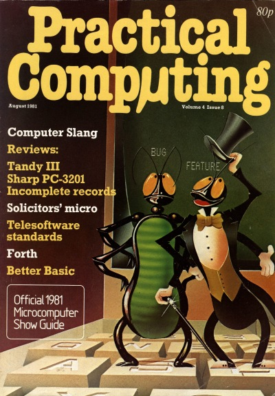 Practical Computing August 1981 cover page
