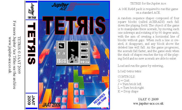 Tetris tape inlay